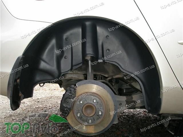 накладки колесных арок для chevrolet lacetti