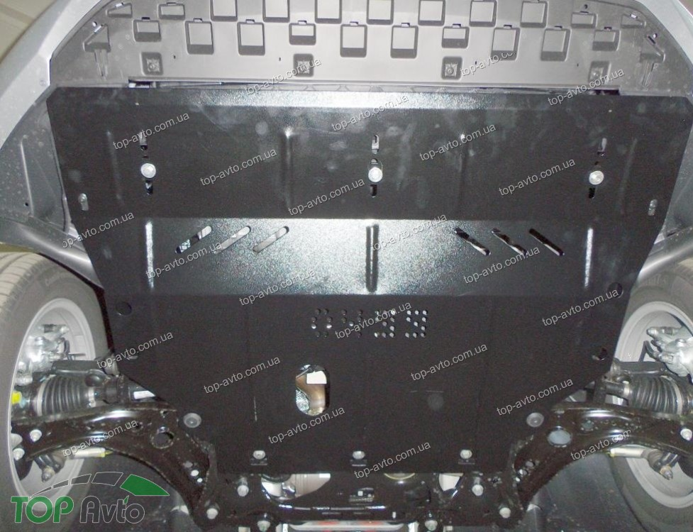 Защита картера и коробки передач для skoda octavia a7