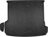 Резиновый коврик в багажник Audi Q7 2015- Avto Gumm