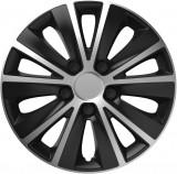 Elegant Колпак 15 Rapide Silver&black (комплект 4шт.)