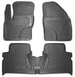 Резиновые коврики Ford C-max 2002-2010 Avto Gumm
