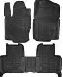 Резиновые коврики MERCEDES GL-Сlass X 166 1+2 ряд Avto Gumm