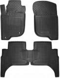 Avto Gumm Резиновые коврики Mitsubishi L200 2016-