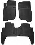 Резиновые коврики Mitsubishi Pajero Sport 2015- Avto Gumm