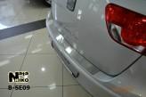 Nataniko Накладка на бампер Seat Altea XL Freetrack 2007-