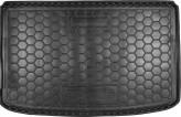 Резиновый коврик в багажник Fiat 500L Avto Gumm