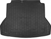 Резиновый коврик в багажник HYUNDAI Elantra 2016- Avto Gumm