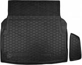 Резиновый коврик в багажник Mercedes E-class W212 sedan Avto Gumm