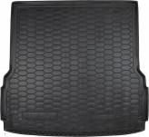 Резиновый коврик в багажник Mercedes GLS-class X166 (7 мест) AvtoGumm