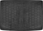Резиновый коврик в багажник OPEL Astra K (хетчбэк) Avto Gumm