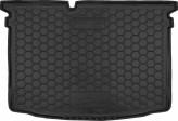 Резиновый коврик в багажник SKODA Fabia 2015- (хетчбэк) Avto Gumm