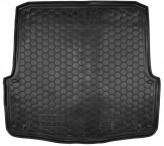 Резиновый коврик в багажник SKODA Octavia A5 2004-2013 (универсал) Avto Gumm