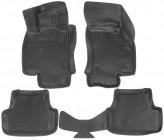 Глубокие резиновые коврики в салон Audi A3 2012-