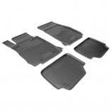 Резиновые коврики BMW 1(F20,F21) 2011- Unidec