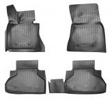 Резиновые коврики BMW X6 F16 2013- Unidec