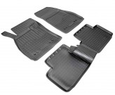 Резиновые коврики Chevrolet Malibu 2012-