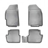 Unidec Резиновые коврики Chevrolet Spark 2010- Ravon R2
