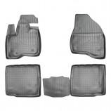 Резиновые коврики Ford Explorer (U502) (5 мест) Unidec