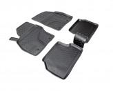 Резиновые коврики Ford Focus II 2008-2011 Unidec
