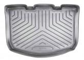 Резиновый коврик в багажник Citroen C3 (F) HB 2002-2005 Unidec