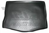 Unidec Резиновый коврик в багажник Chevrolet Captiva 2011- (7 мест, разложенный 3 ряд)