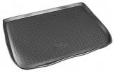Резиновый коврик в багажник Citroen C4 Picasso (U) 2007- Unidec