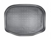 Резиновый коврик в багажник Ford Explorer (U502) 2010- (разложенный 3 ряд) Unidec
