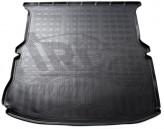 Резиновый коврик в багажник Ford Explorer (U502) 2010- (cложенный 3 ряд) Unidec