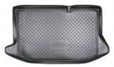 Резиновый коврик в багажник Ford Fiesta HB 2008- Unidec