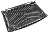 Резиновый коврик в багажник Ford Focus I HB 1998-2004 Unidec