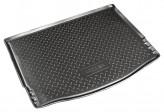 Резиновый коврик в багажник Ford Focus III HB 2011- Unidec