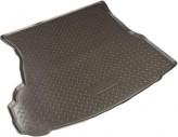 Резиновый коврик в багажник Faw Besturn B50 sedan 2012- Unidec