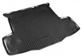 Unidec Резиновый коврик в багажник Fiat Linea sedan 2007-