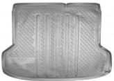 Резиновый коврик в багажник Kia Rio sedan 2005-2011 Unidec
