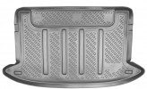 Резиновый коврик в багажник Kia Rio HB 2005-2011 Unidec