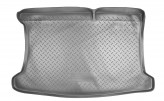 Резиновый коврик в багажник Kia Rio HB 2011- Unidec