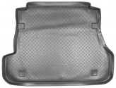 Резиновый коврик в багажник Kia Spectra sedan 2006- Unidec