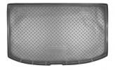 Резиновый коврик в багажник Kia Venga HB 2011- Unidec
