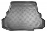 Резиновый коврик в багажник Mitsubishi Galant sedan 2003- Unidec