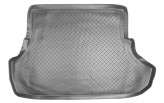 Unidec Резиновый коврик в багажник Mitsubishi Lancer X sedan 2007-