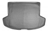 Резиновый коврик в багажник Mitsubishi Lancer X HB 2007- Unidec