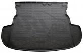 Резиновый коврик в багажник Mitsubishi Outlander 2012- (без органайзера) Unidec