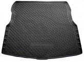 Резиновый коврик в багажник Nissan Almera sedan 2012- Unidec