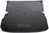Резиновый коврик в багажник Nissan Pathfinder (R52) 2014- (сложенный 3 ряд)