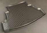 Резиновый коврик в багажник Nissan Primera sedan 2002-2007 Unidec