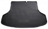 Резиновый коврик в багажник Nissan Sentra (B17) sedan 2014- Unidec