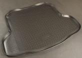 Резиновый коврик в багажник Nissan Teana sedan 2008-2014 Unidec