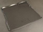 Резиновый коврик в багажник Nissan Terrano (2WD) 2014-\ Renault Duster (2WD)  2011- Unidec