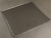 Резиновый коврик в багажник Nissan Terrano (4WD) 2014-\ Renault Duster (4WD)  2011- Unidec