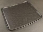 Резиновый коврик в багажник Opel Astra H WAG 2007- Unidec